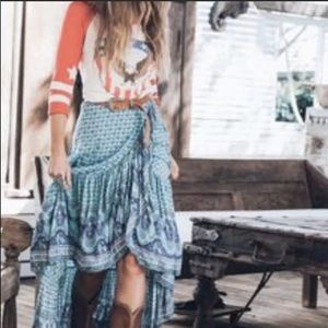 Spell and the Gypsy - Sunset Road Wrap Skirt/Dress